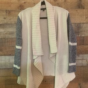 Romeo & Juliet couture beige cardigan, size small